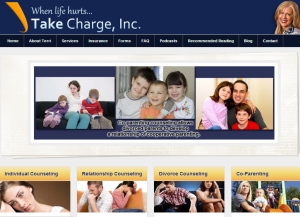 Take Charge Website